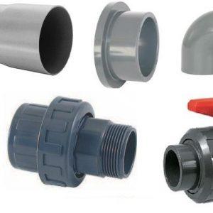 PVC, tubería y accesorios